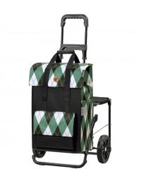 Сумка-тележка со стульчиком Andersen Komfort Shopper Ine 51 л 50 кг