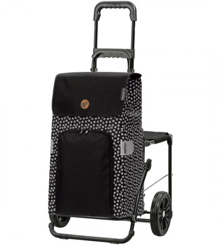 Сумка-тележка со стульчиком Andersen Komfort Shopper Mara 47 л 50 кг