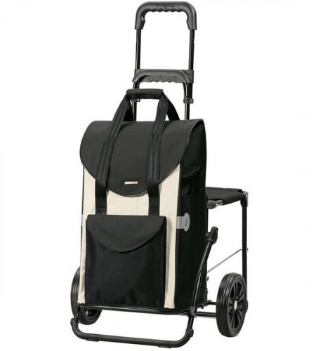Сумка-тележка со стульчиком Andersen Komfort Shopper Senta 47 л 50 кг