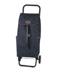 Сумка-тележка Garmol Jeans Vichy 55 л 40 кг