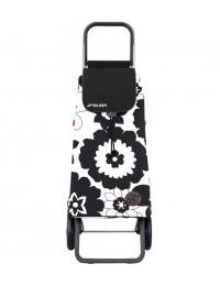 Сумка-тележка Rolser Pack Flor Logic RG Antracita 43 л 40 кг